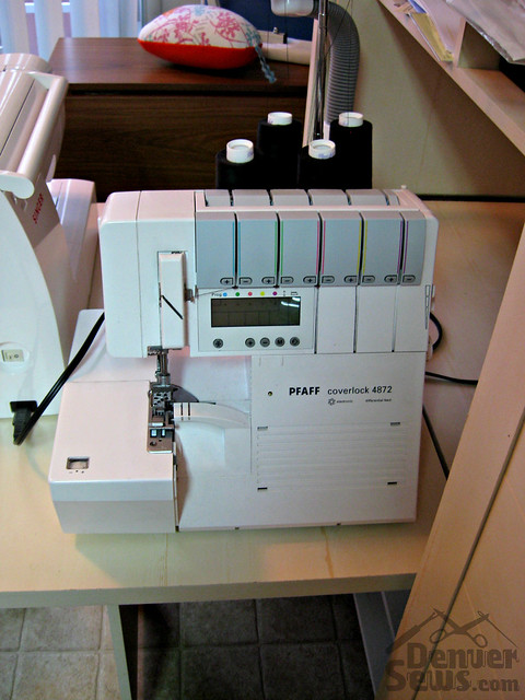 Tiny Sewing Corner - Pfaff 4872 Coverlock Machine