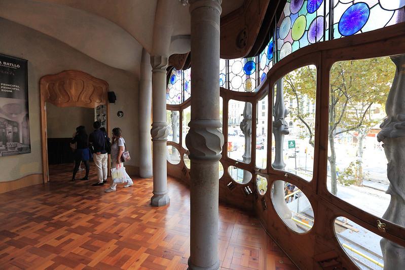 Main room of Casa Batlló