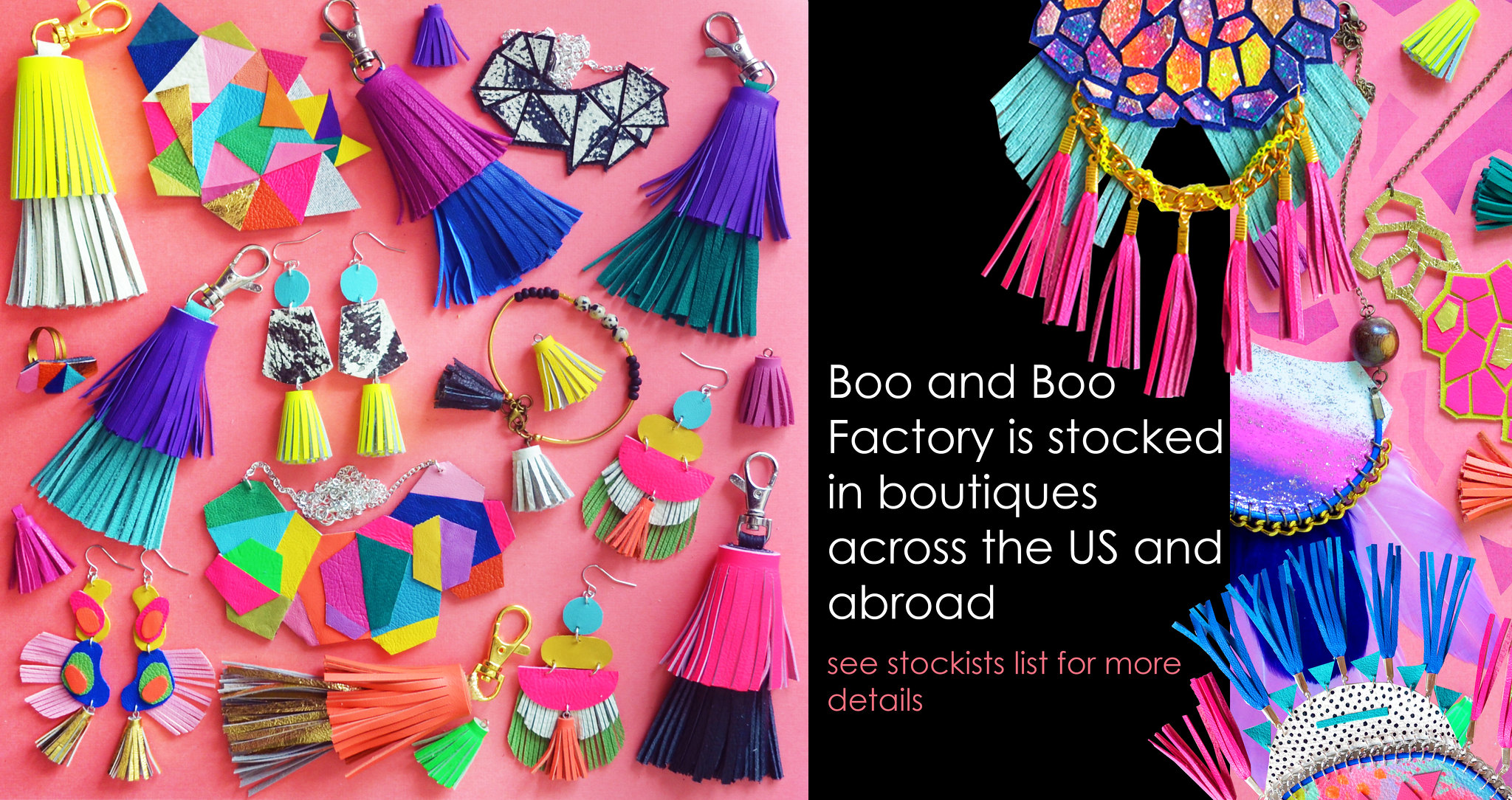 Boo and Boo Factory - Handmade Leather Jewelry
