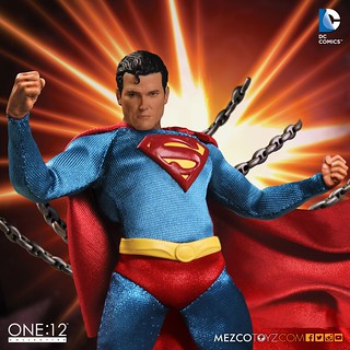 MEZCO – ONE:12 COLLECTIVE 系列【經典超人】Superman Classic Version