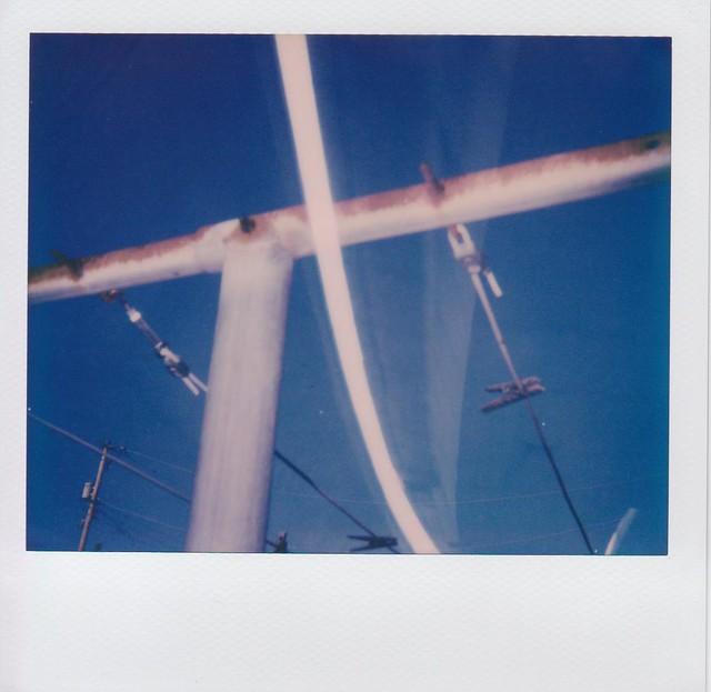 Polaroid Spectra AF. Impossible color film. Multiple exposure