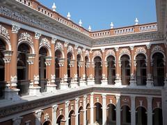 Sadarbari Palace Courtyard