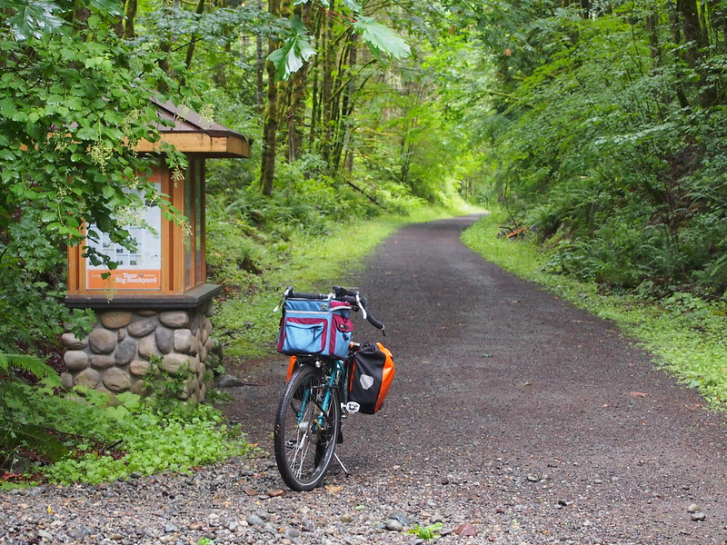 Snoqualmie Valley Trail: End of Lower Section