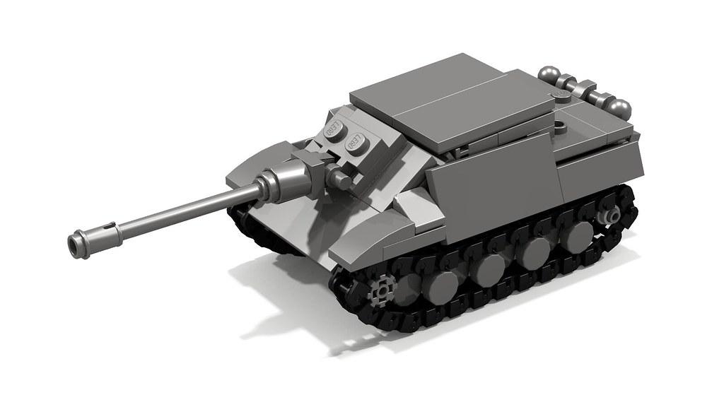 lego ww1 tank instructions