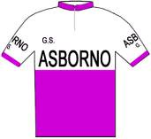 Asborno - Giro d'Italia 1958