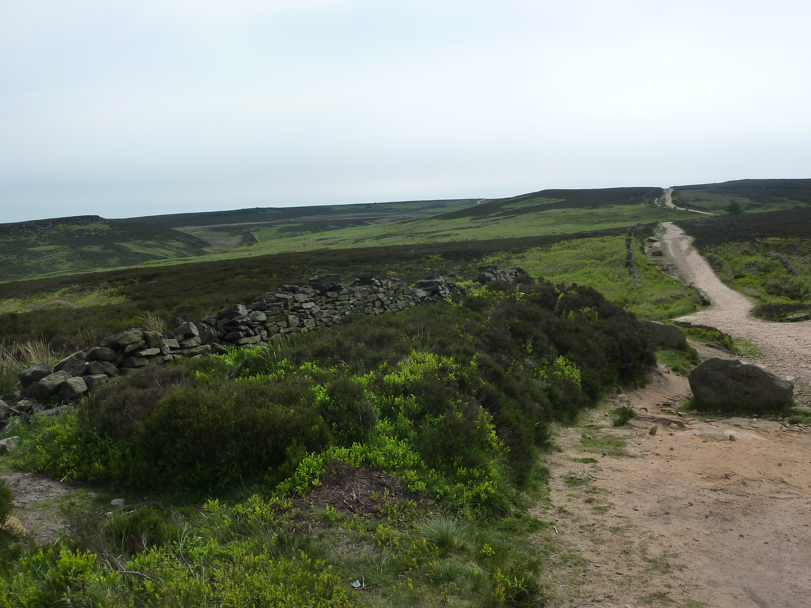 Houndkirk Road, through Burbage and Houndkirk Moors SWC Walk 266 - Sheffield to Bamford (via Burbage Rocks and Stanage Edge) or to Moscar Lodge