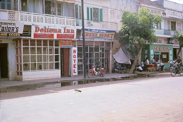 Beautiful downtown Qui Nhon 1967