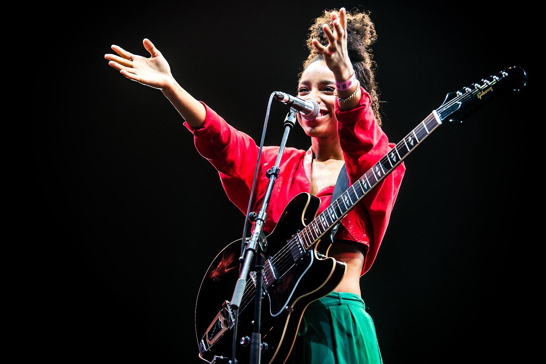 Lianne La Havas @ Rock Werchter 2016 (Jan Van den Bulck)