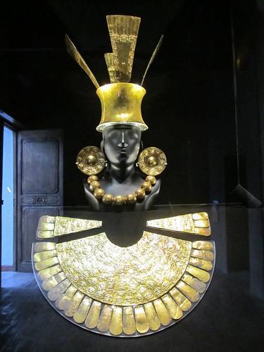 Le musée Rafael Larco: bijou en or