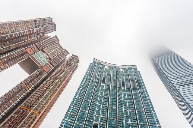 """""""International Commerce Centre en Hong Kong"""
