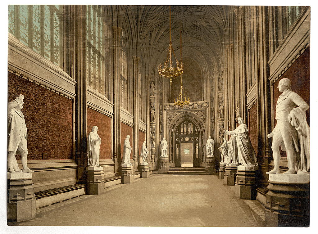 [Houses of Parliament, St. Stephen's Hall (Interior), London, England] (LOC)