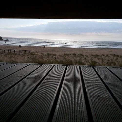 #FozDoLisandro  #ericeira  #beach  #sun #sky #paradise by Joaquim Lopes