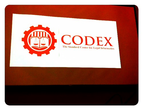 Codex #FutureLaw 2013 Conference