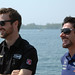 James Hinchcliffe and Alex Tagliani