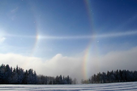 Drahokamy zledových krystalků - Optická šálení X.