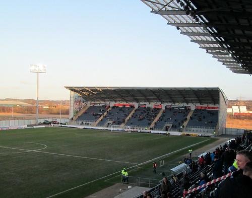 Falkirk Stadium, East Stand