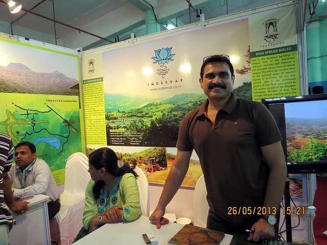 Indeevar - N A Farm House Plots - Rajgad Fort - Bhor Taluka - Visit Sakal Agrowon Green Home Expo, 25th and 26th May, 2013