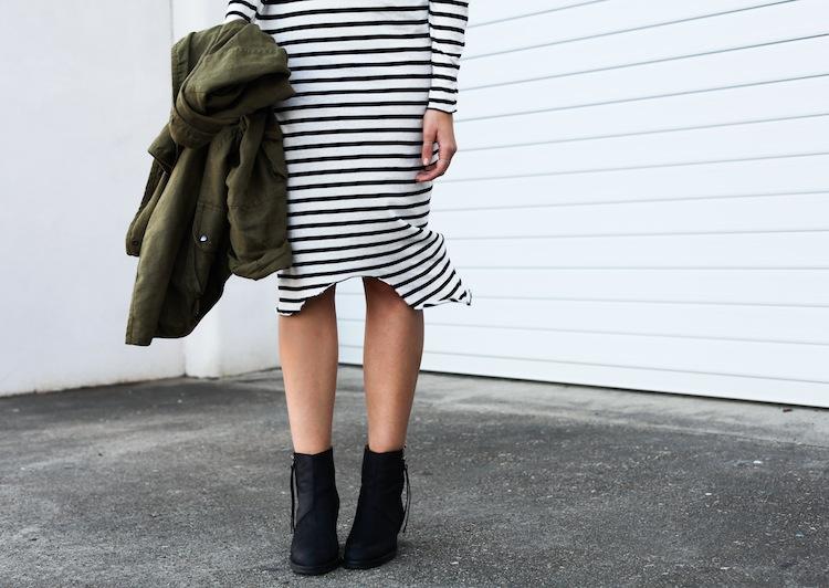 Modern Legacy Fashion Blog Australia ASOS State of Fashion Bassike stripe Isabel Marant khaki Uro (1 of 1)