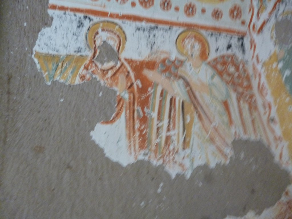 Christian fresco in Ihlara valley