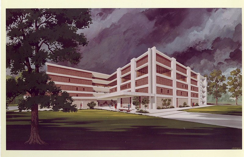 Monroe Hall Artist Rendition