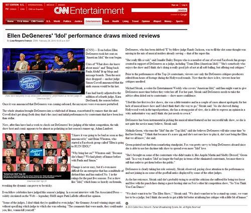 CNN February 2010