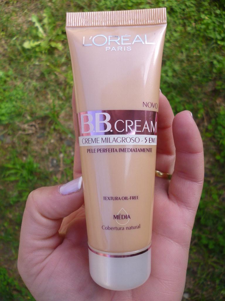 Testei: BB Cream- Creme Milagroso