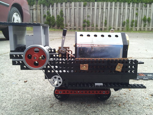 Lego Steam Train Lego Live Steam Train 1 Right