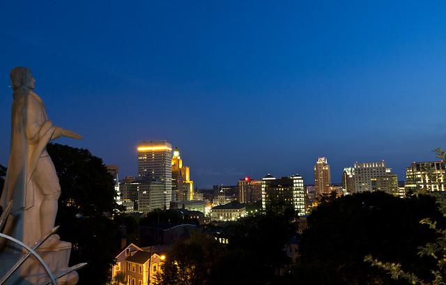 Providence @ Night!