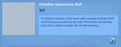 Paradise Geometrics Wall 3
