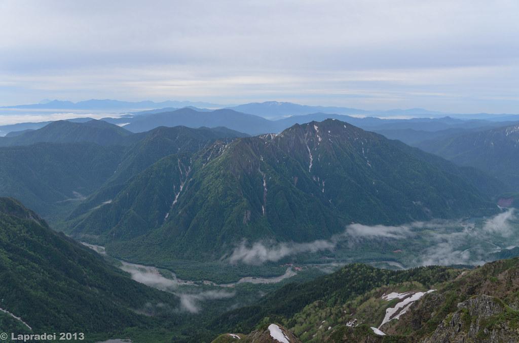 20130623 六百山と霞沢岳