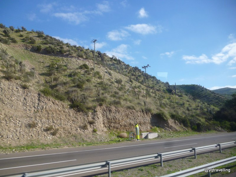 Along the Chilean highway