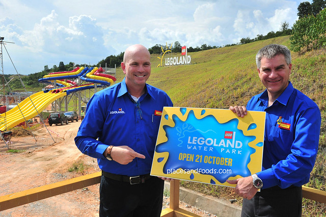 Scott Elliott and Siegfried Boerst at LEGOLAND Water Park