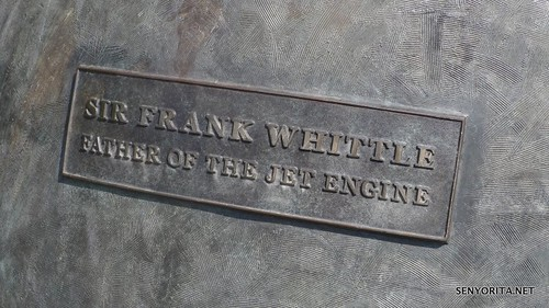 Sir Frank Whittle - Rugby Statue