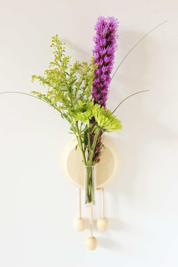 Fabric Paper Glue | Trade & Made DIY Wooden Wall Vase 7
