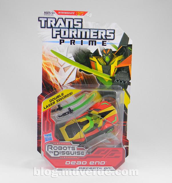 Transformers Dead End - Prime RID - caja