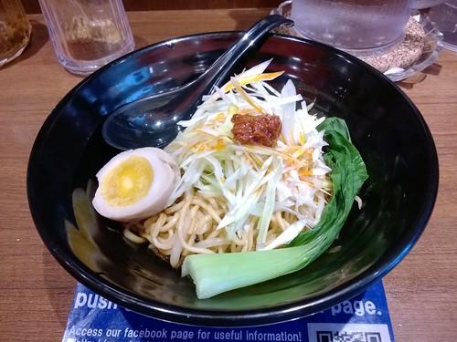 Sanji-Style White Sesame Chicken Tan-Tan Noodle
