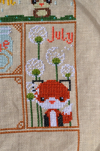 July Woodland Sampler