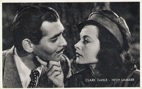 Hedy Lamarr and Clark Gable In Comrade X
