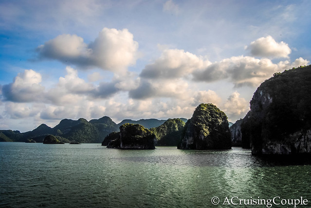 Halong Bay Vietnam Sun