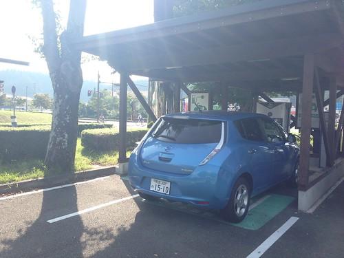 道の駅小国ゆうステーション EV充電設備