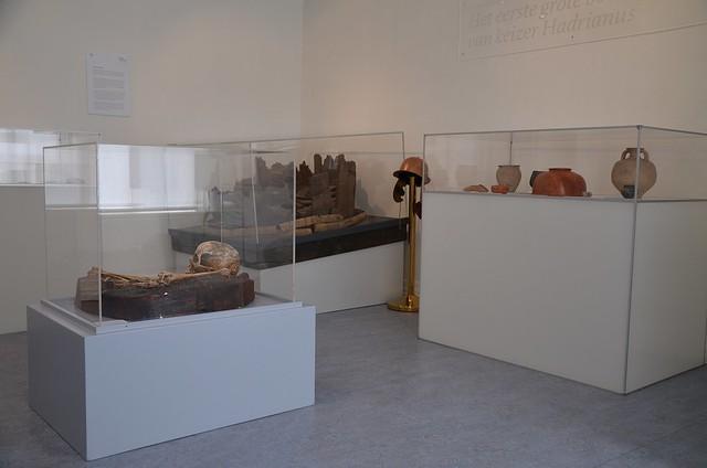 Finds from Aurelium Cananefatium/Forum Hadriani, Germania Inferior, Stadsmuseum Leidschendam-Voorburg, Netherlands