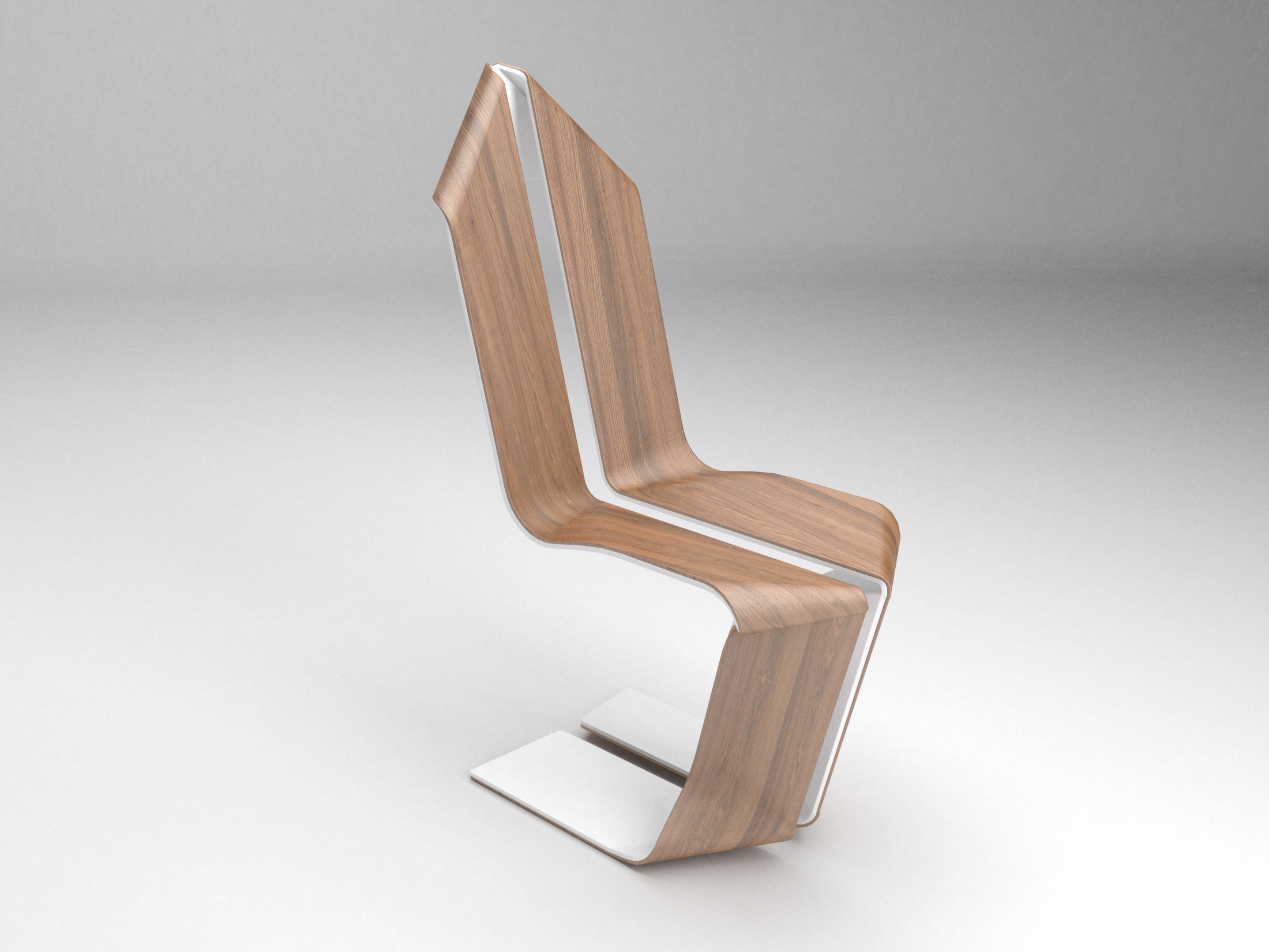 A4 chair violent volumes for Chaise origami