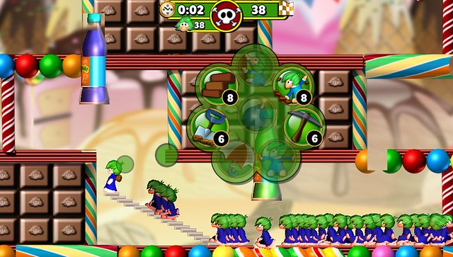 Lemmings Touch on PS Vita