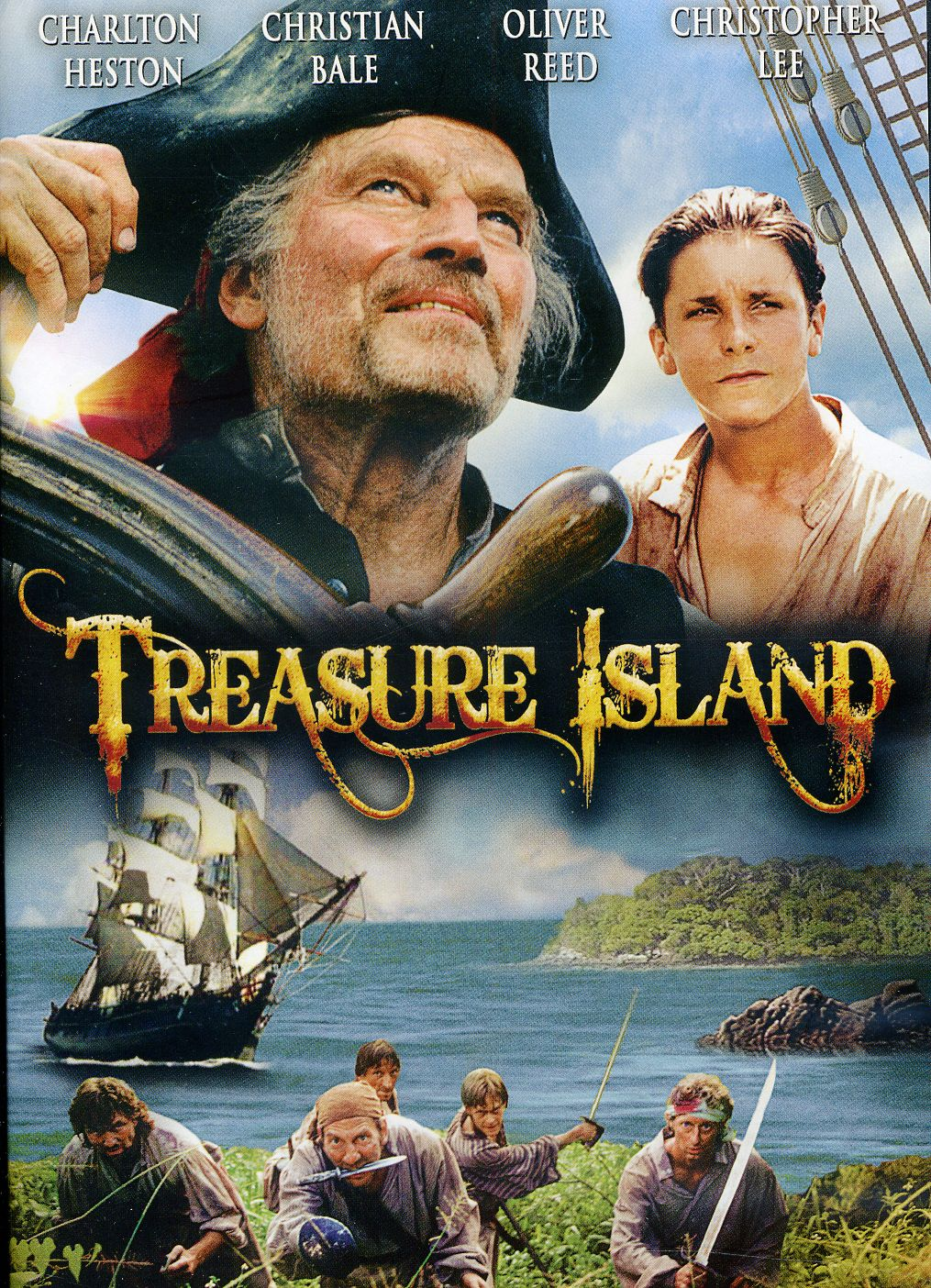 Treasure Island 1990 cover