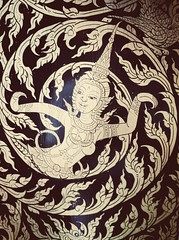 Fairy in Thai painting