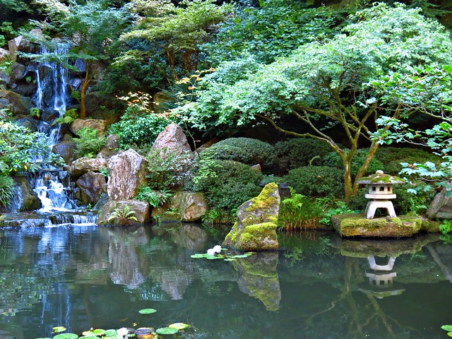 Japanese Garden Washington Park Portland Or Flickr Photo Sharing