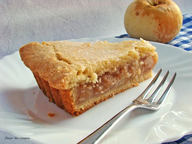 яблочный пирог на песочном тесте 3