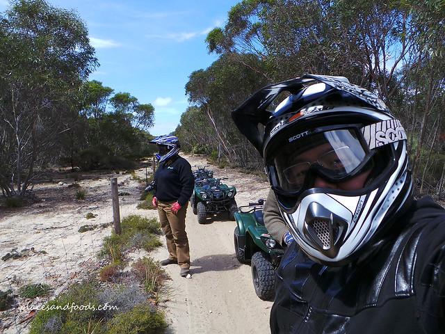 Kangaroo Island Outdoor Action Quad Bikes Ride