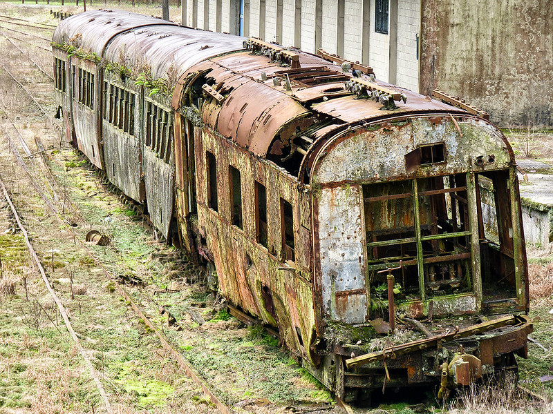 Railway History Slowly Rotting Away