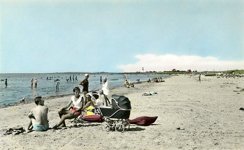 Olofsbo beach, Falkenberg, Halland, Sweden